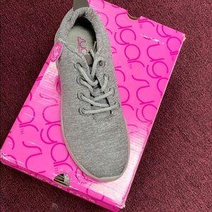 sugar Gabber All Grey Tennis Shoe!!!!